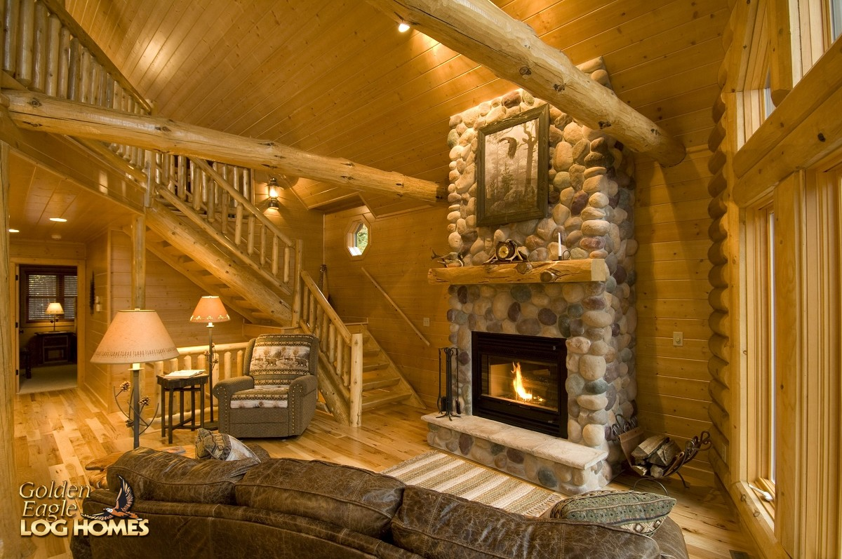 Golden Eagle Log And Timber Homes Log Home Cabin Pictures Photos Modified