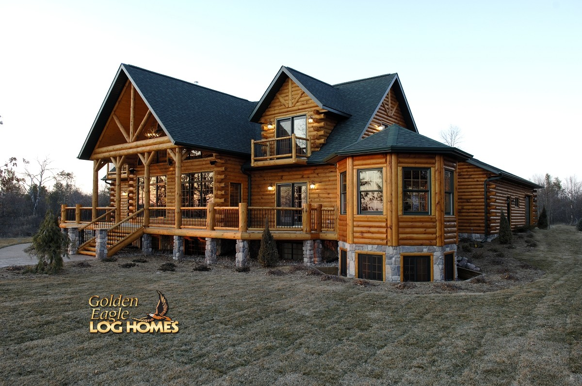 Golden Eagle Log And Timber Homes Log Home Cabin Pictures Photos Country 39 S Best 3361al Showcase
