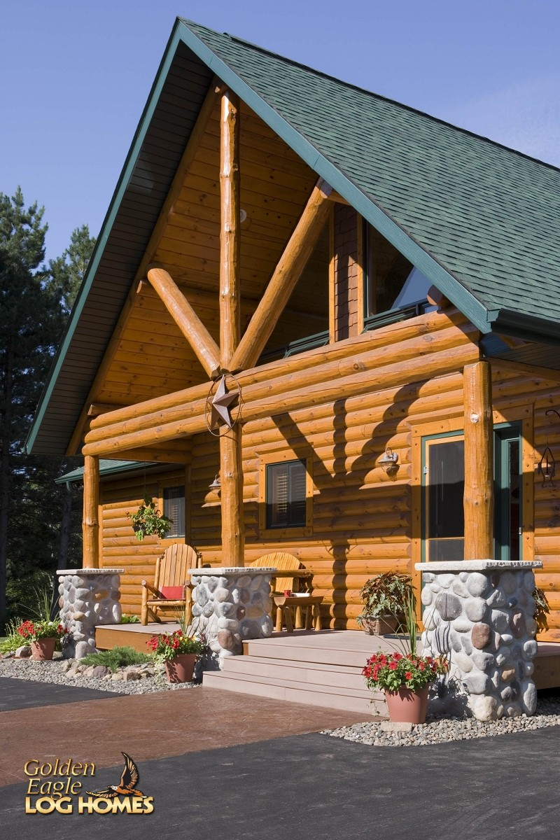 Dwelling In The Word: Golden Eagle Log And Timber Homes: Log Home / Cabin