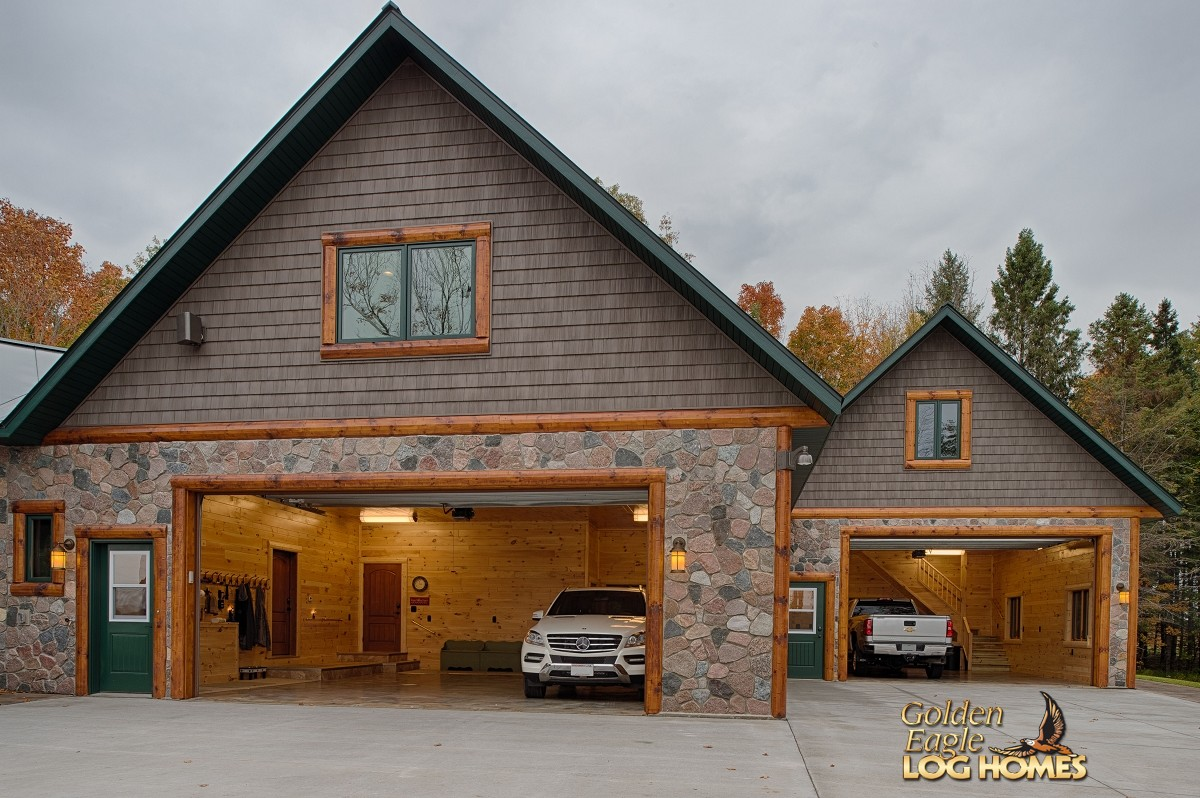 Golden Eagle Log and Timber Homes: Log Home / Cabin ...