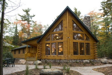 Modified Northern Eagle Log Homes Photo Album
